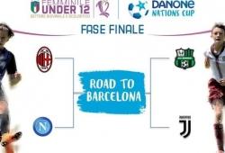 DANONE NATIONS CUP: a Coverciano si assegna il tricolore  U. 12 femminile