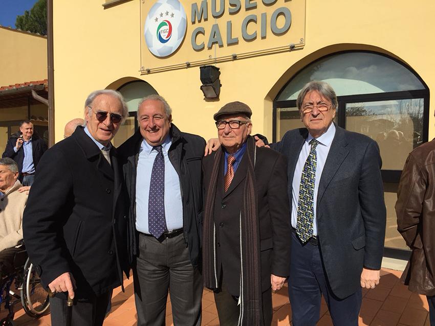 """""""Fino Fini, dentro il cuore"""" Festeggiati i 90 anni del """"Dottore"""" presso il Museo del Calcio, la sua creatura!"""