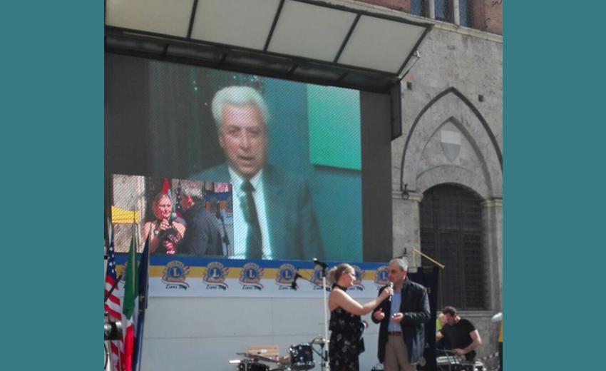 Siena, Lions e la memoria di Artemio Franchi