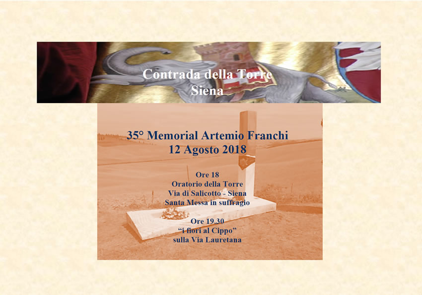 35° Memorial Artemio Franchi
